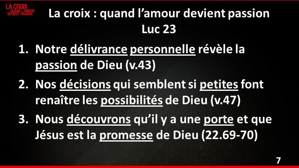 Luc 23.32-47 32 On conduisait en même temps deux malfaiteurs, qui devaient être mis à mort avec Jésus.