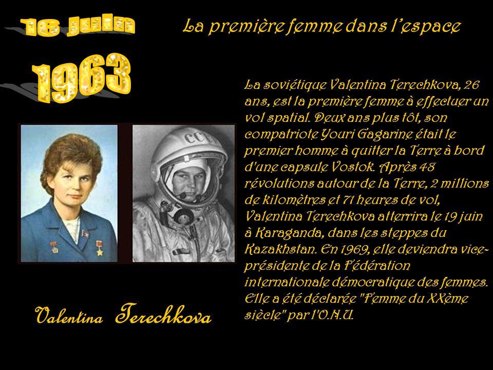 Jacqueline Cochran 1908 – 1980 Jacqueline Auriol 1917 – 2000 Partie de la base d Edwards (Californie), l aviatrice américaine Jacqueline Cochran est la première femme à franchir le mur du son à bord d un Canadair F-86 Sabre.