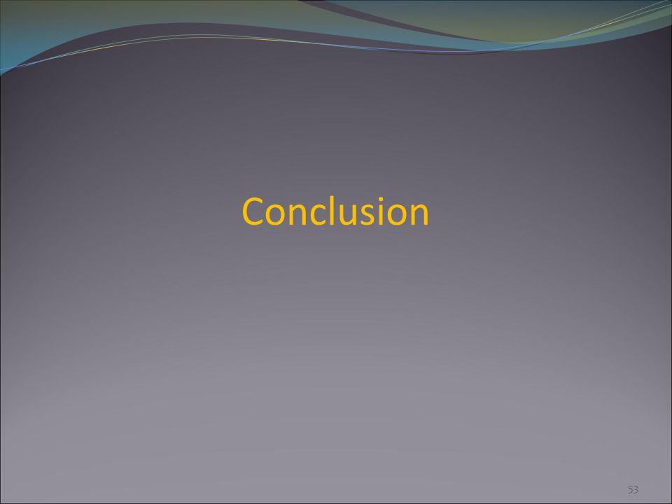 Conclusion 53