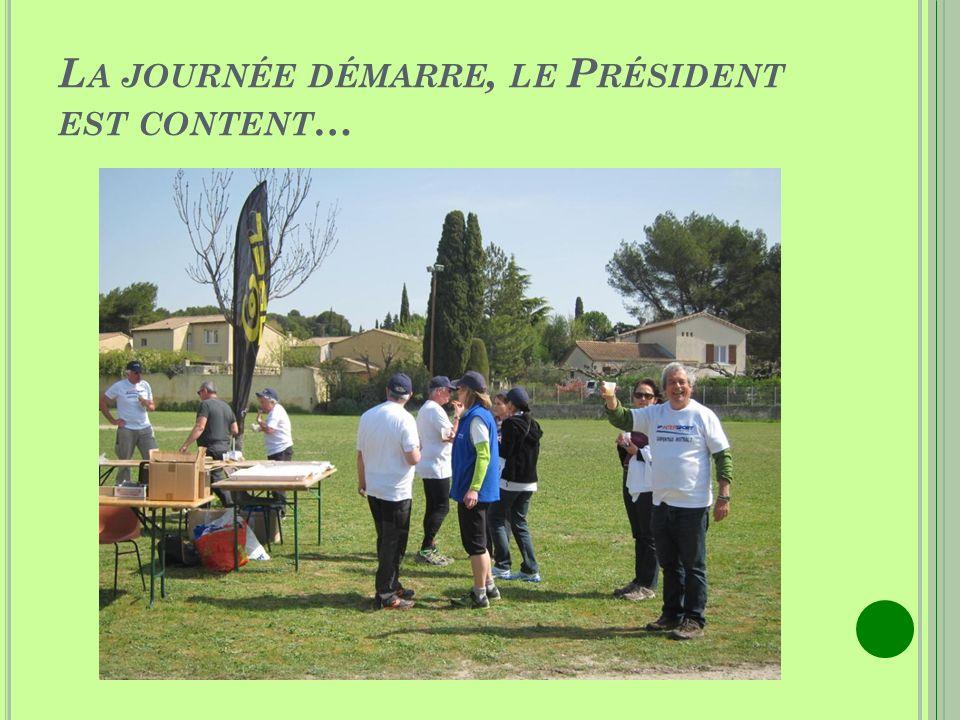 JOURNEE VAUCLUSIENNE DE LA MARCHE NORDIQUE SAMEDI 5 A VRIL 2014 LISLE SUR LA SORGUE - Stade Saint Antoine -