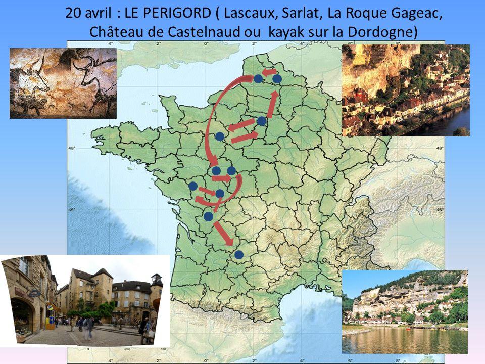 19 avril : La Forêt des Singes, Le Gouffre de Padirac