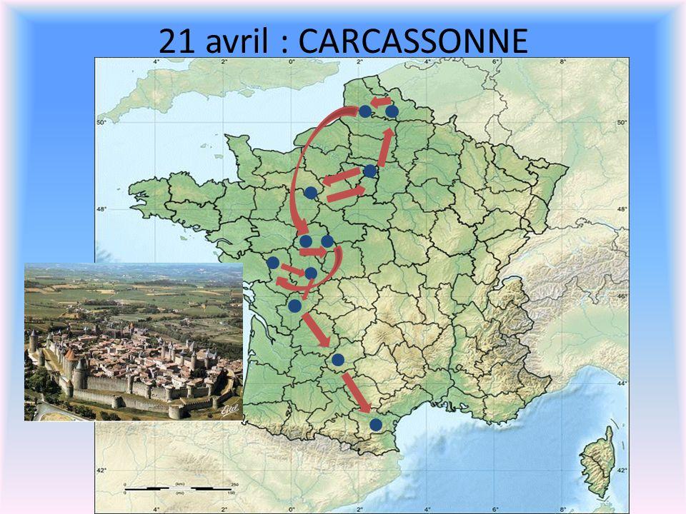 20 avril : LE PERIGORD ( Lascaux, Sarlat, La Roque Gageac, Château de Castelnaud ou kayak sur la Dordogne)