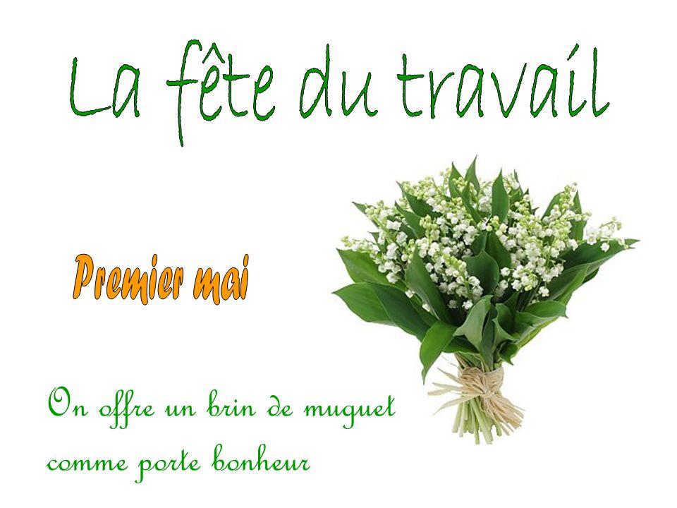 Attention! En France on fête le dernier dimanche de mai