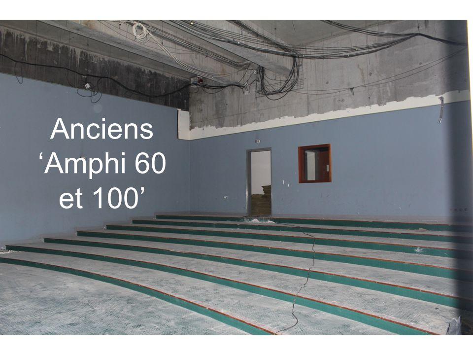 Anciens Amphi 60 et 100