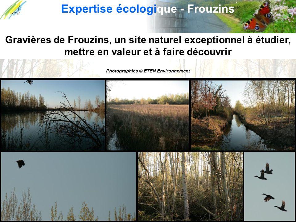 Gravières de Frouzins, un site naturel exceptionnel à étudier, mettre en valeur et à faire découvrir Expertise écologique - Frouzins Photographies © E