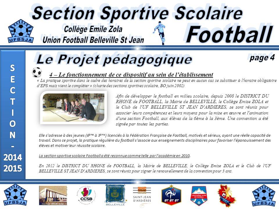 41 joueurs (section 2013/2014) Code établissement : 0690007H 790