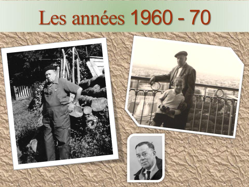 Les a aa années 1 11 1960 - 70