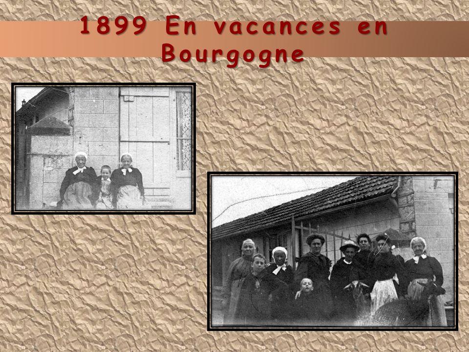1899 En vacances en Bourgogne