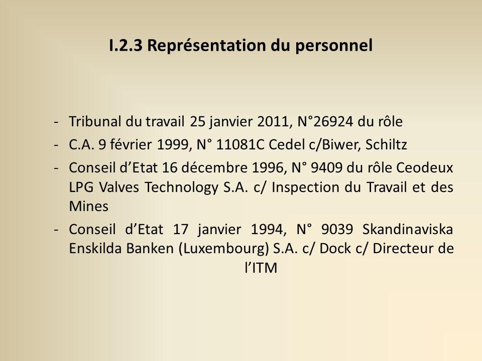 -Tribunal du travail 25 janvier 2011, N°26924 du rôle -C.A.