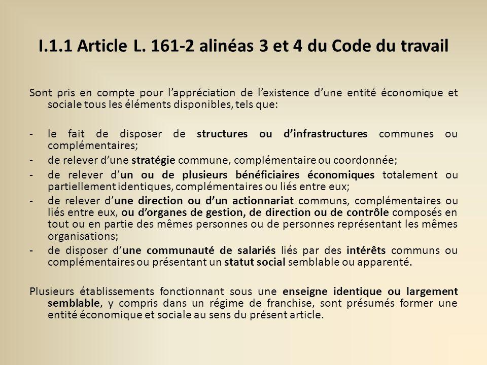 I.1.1 Article L.