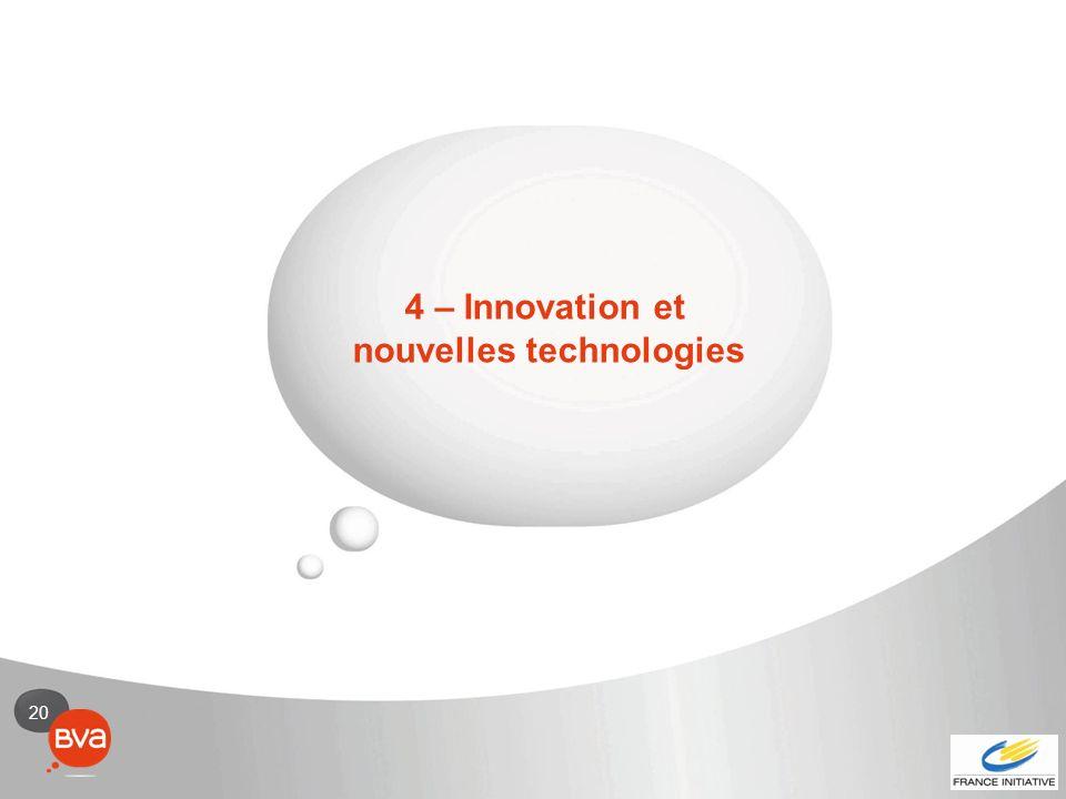20 4 – Innovation et nouvelles technologies