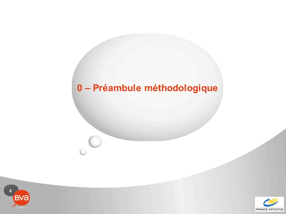 4 0 – Préambule méthodologique