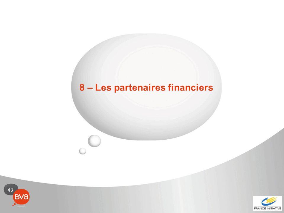 43 8 – Les partenaires financiers