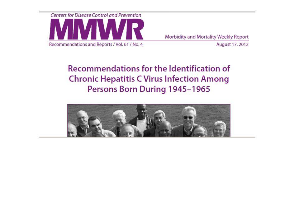 USA (1,2 – 1, 8 % ) 2,7- 3,9 millions Ann Intern Med 2006; 144:705–14 Hepatology 2010; 51:729–33.