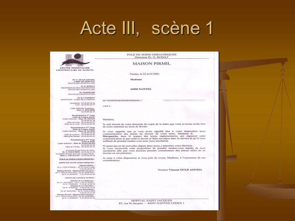 Acte III, scène 1