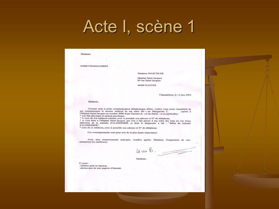 Acte I, scène 1