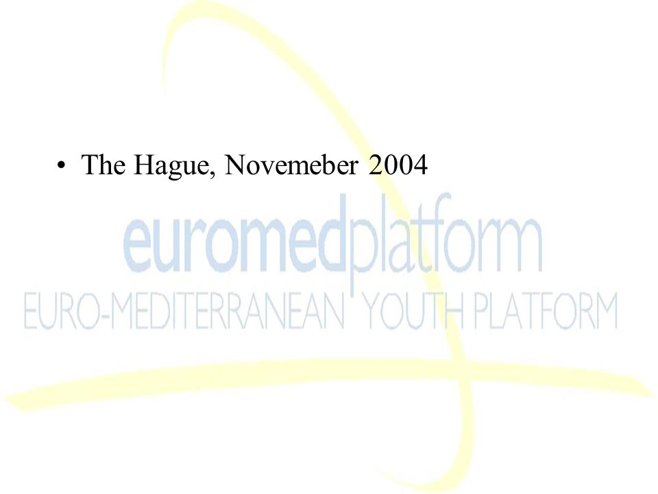 The Hague, Novemeber 2004