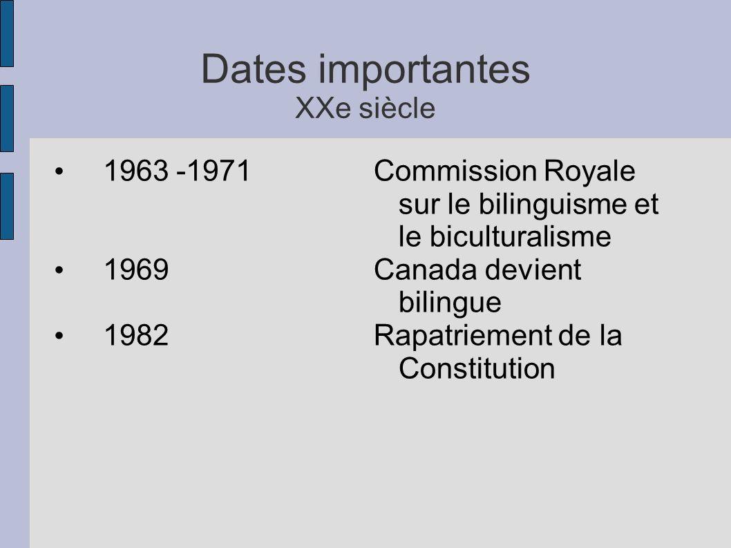 Langues officielles au Canada Même si le gouvernement fédéral est officiellement bilingue, la législation sur la ou les langues officielles des provinces et territoires relèvent de ces juridictions.