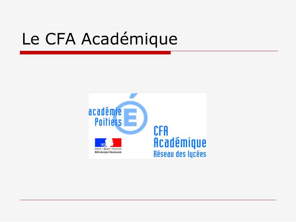 Le CFA Académique