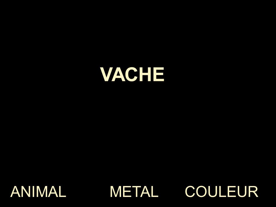 ANIMAL METAL COULEUR CHEVAL