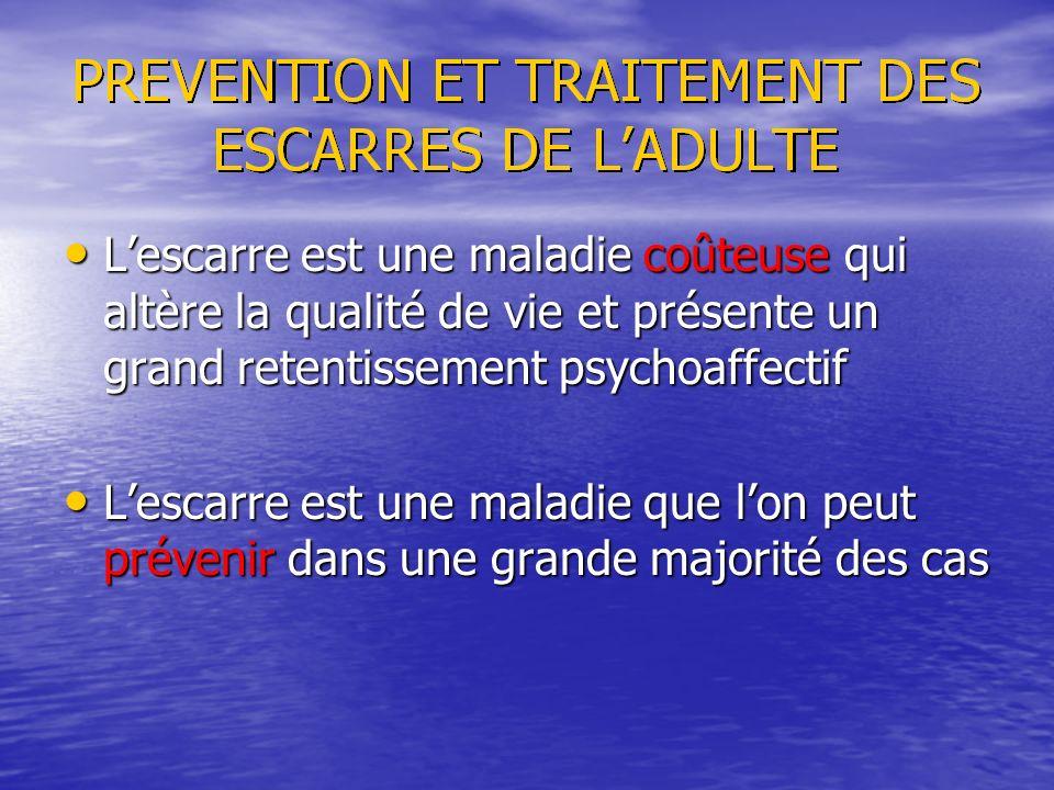 Lescarre est une maladie coûteuse qui altère la qualité de vie et présente un grand retentissement psychoaffectif Lescarre est une maladie coûteuse qu