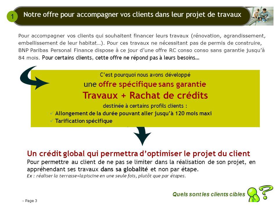 - Page 4 Les prêts travaux sont réalisés essentiellement par des familles propriétaires avec enfants, ayant un niveau de revenus plutôt confortable.