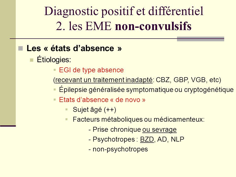 Diagnostic positif et différentiel 2.