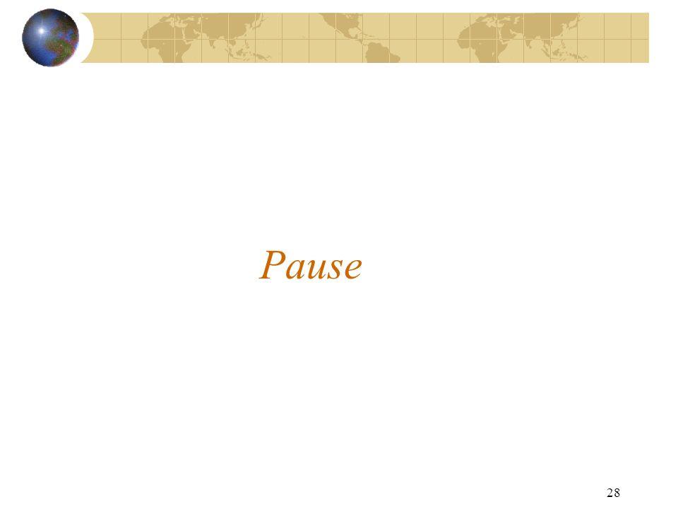 28 Pause