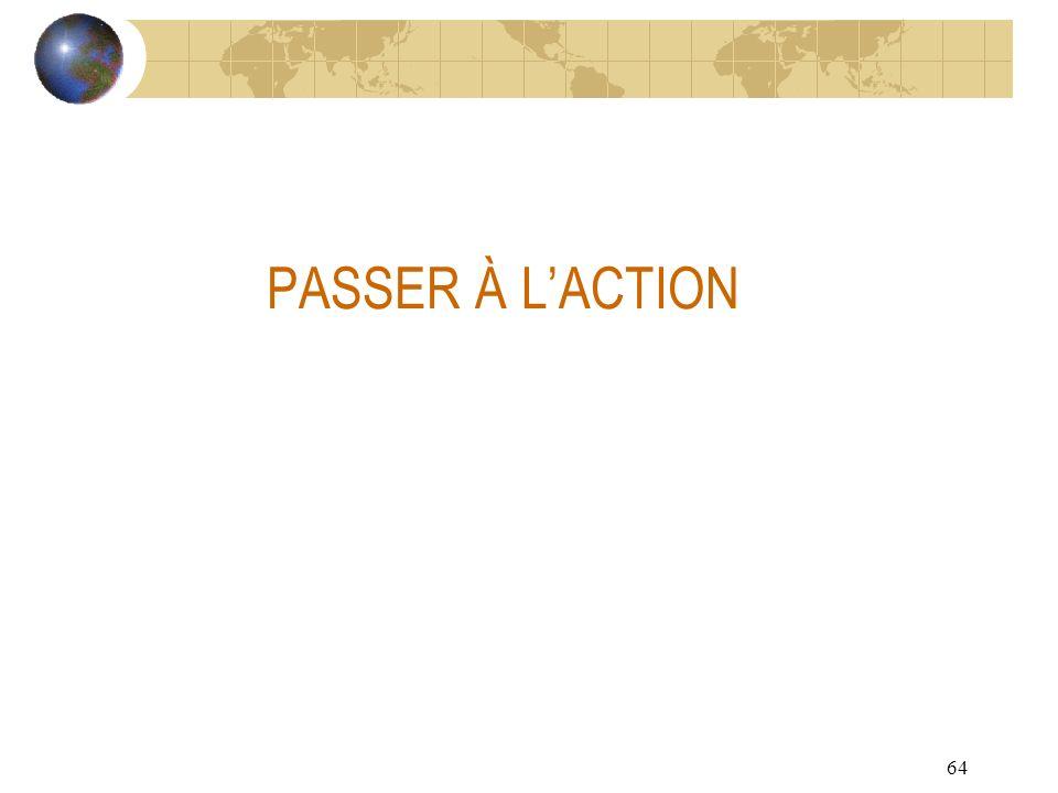 64 PASSER À LACTION