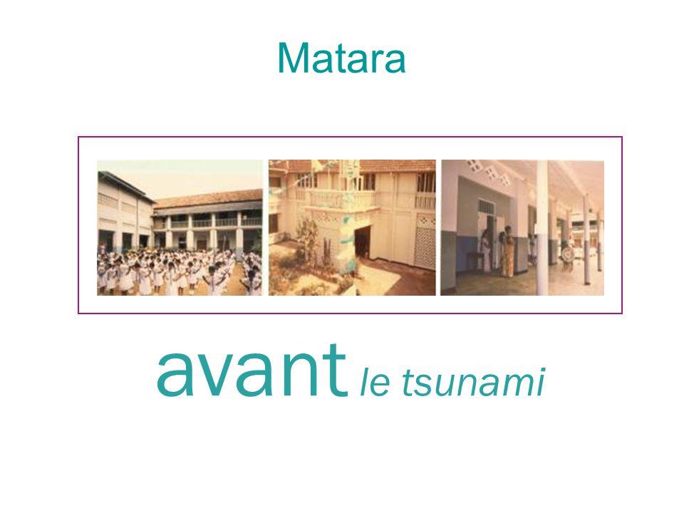 Matara avant le tsunami