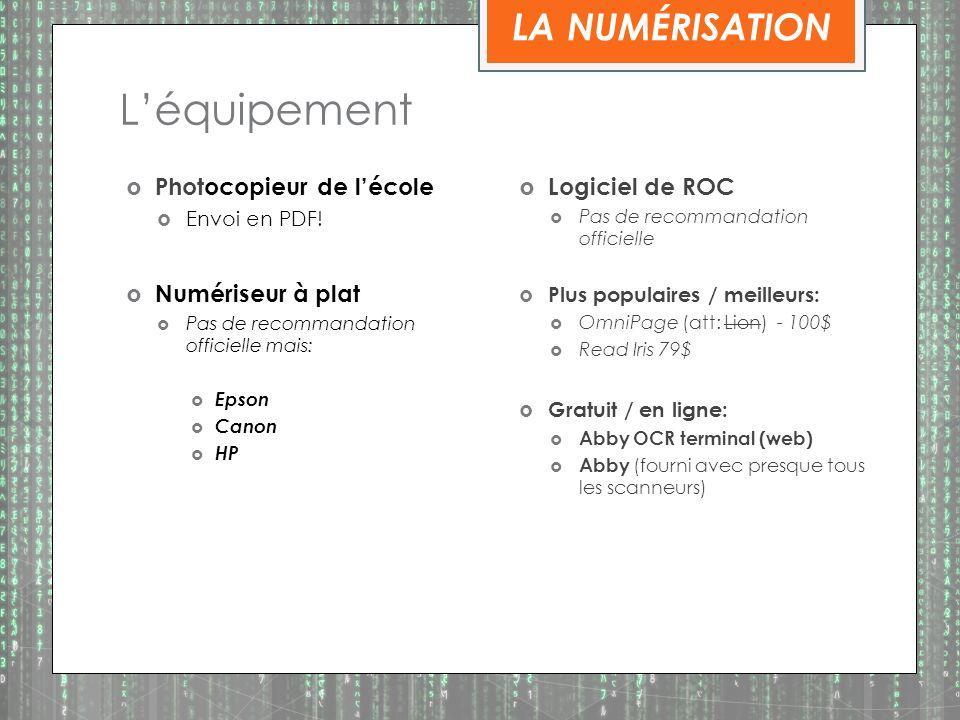 Léquipement Photocopieur de lécole Envoi en PDF.