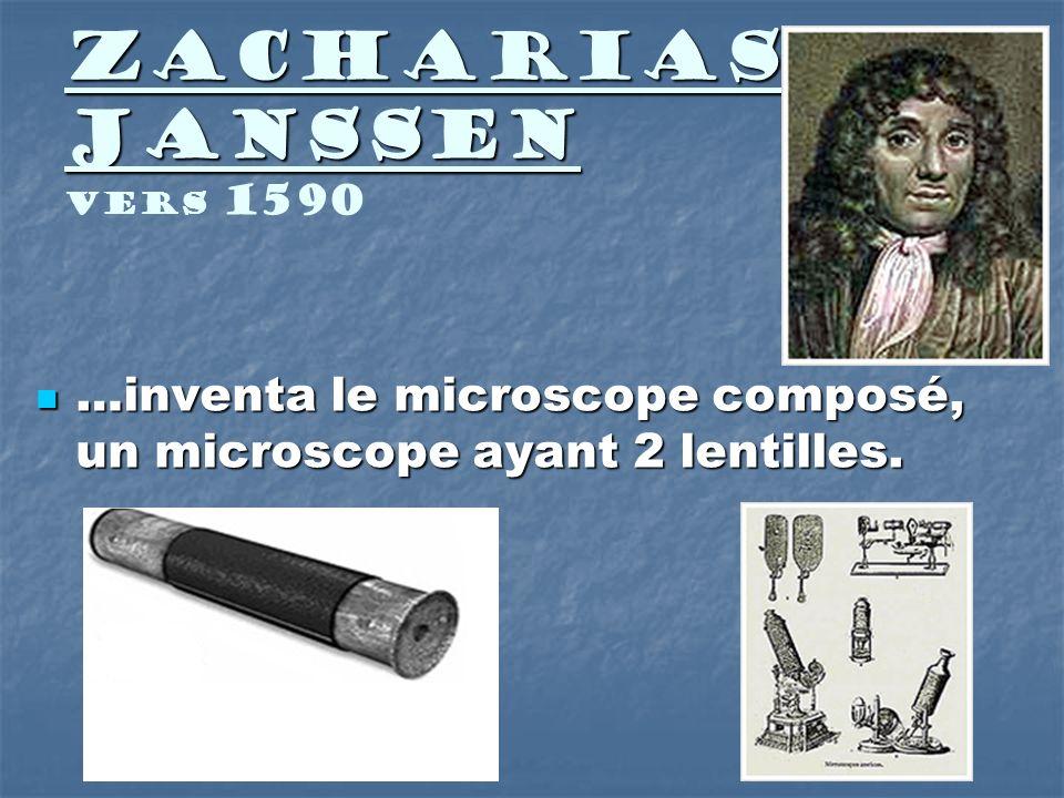 Robert Hooke Robert Hooke 1665 …montre des illustrations de paroi décorce darbre observée à laide dun microscope composé.