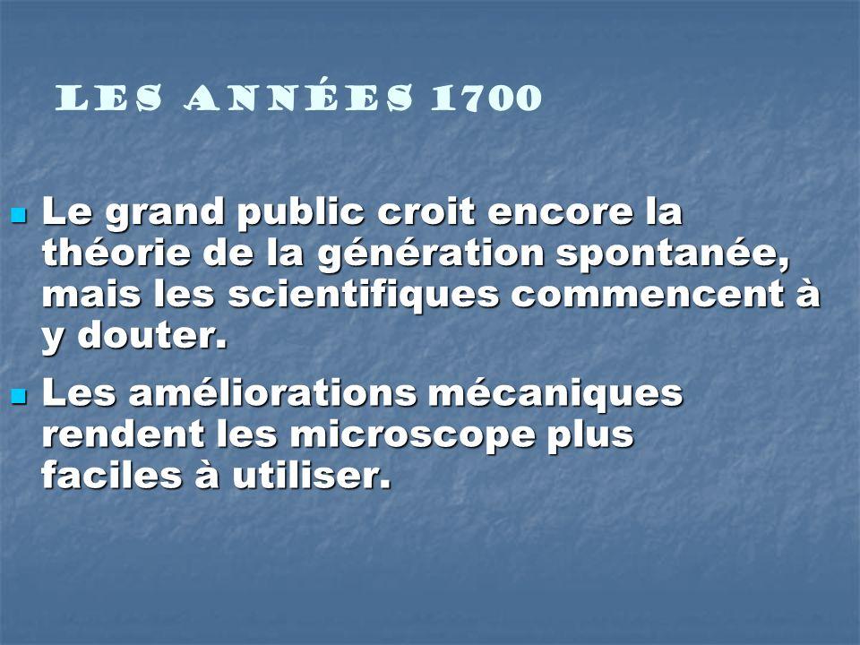 François Vincent Raspail François Vincent Raspail 1825 …propose que toute cellule vient dune cellule préexistante.