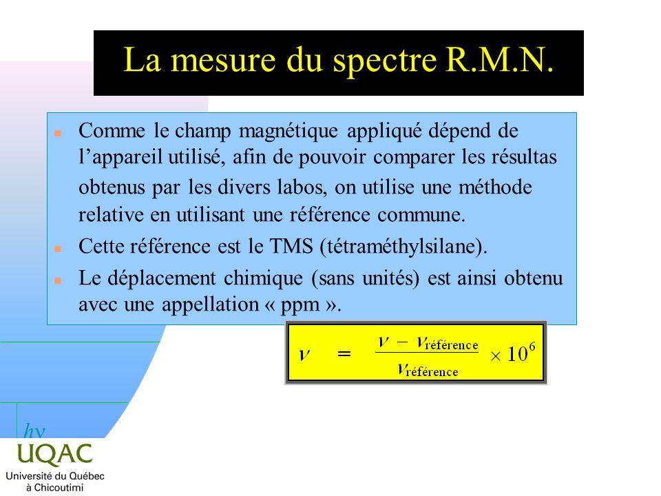 h Le cas de léthanol n 12 C et 16 O nont pas de spin nucléaire.