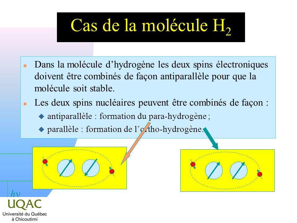 h Les glissements chimiques du carbone-13