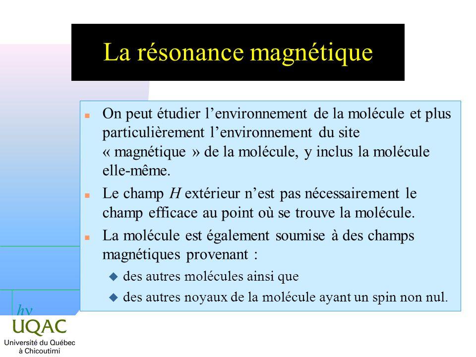 h Dépt.des sciences fond., 2008-04-09 La résonance paramagnétique électronique : R.P.E.