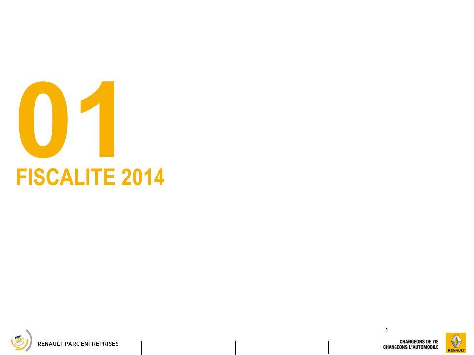 RENAULT PARC ENTREPRISES FISCALITE 2014 01 1