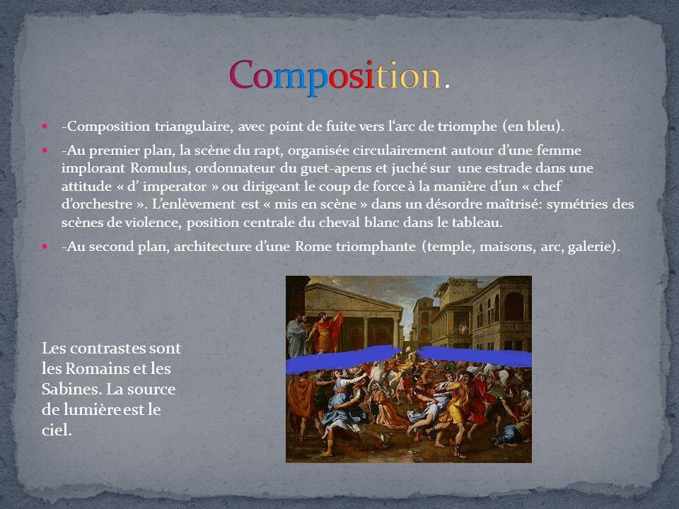 -Lœuvre étudiée rend compte des innovations de la peinture de son temps avec la composition des couleurs.