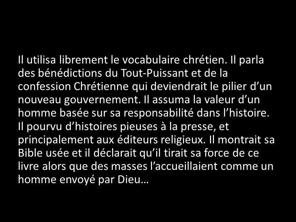 … pourtant, Adolf Hitler était un maître de la religion extérieure – sans réalité intérieur.