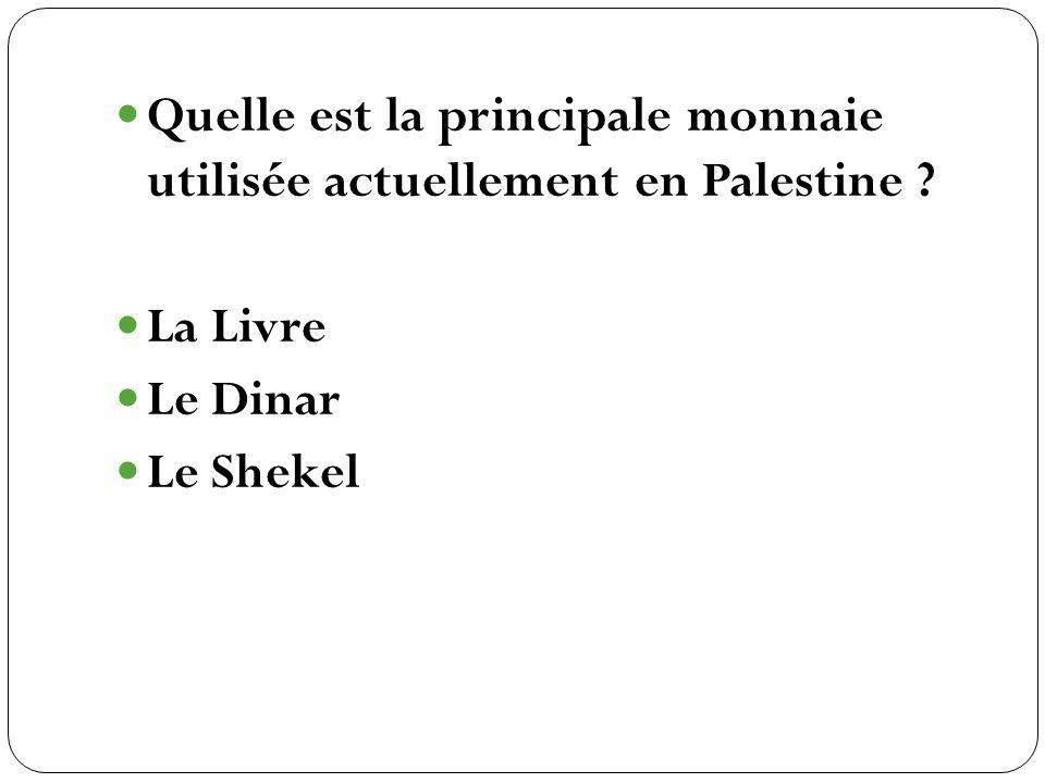 La Livre Le Dinar Le Shekel
