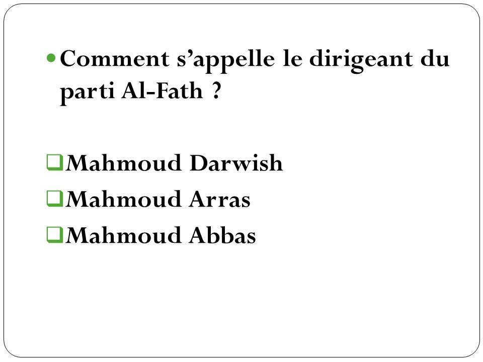 Mahmoud Darwish Mahmoud Arras Mahmoud Abbas