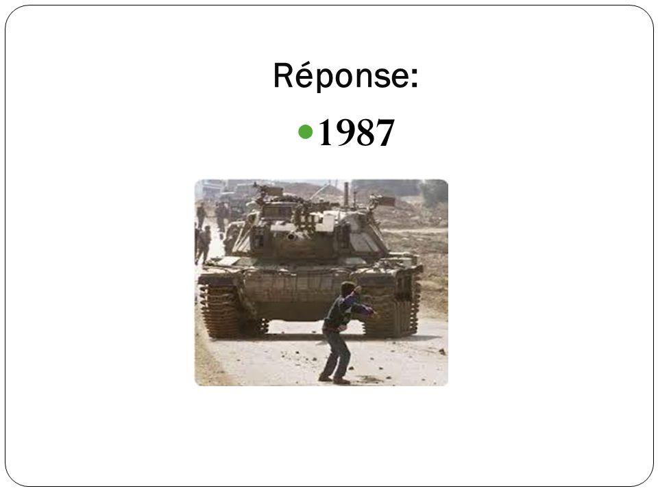 Réponse: 1987