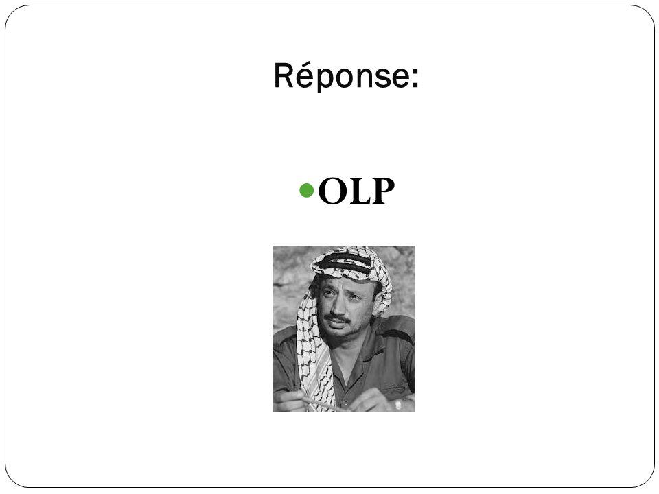 Réponse: OLP