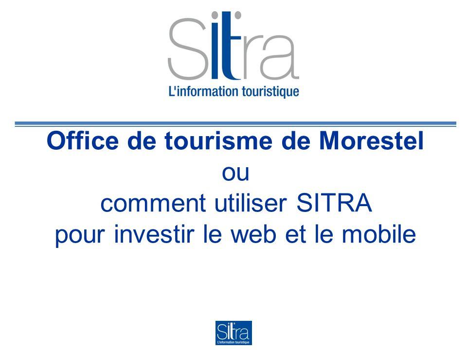 Office de tourisme de Morestel ou comment utiliser SITRA pour investir le web et le mobile