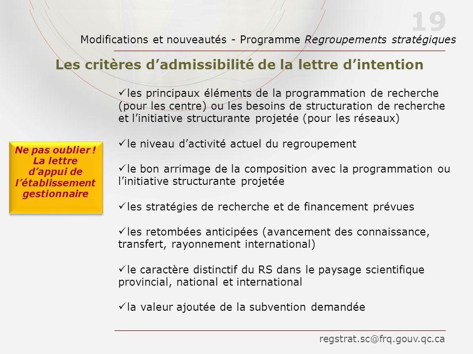 les principaux éléments de la programmation de recherche (pour les centre) ou les besoins de structuration de recherche et linitiative structurante pr