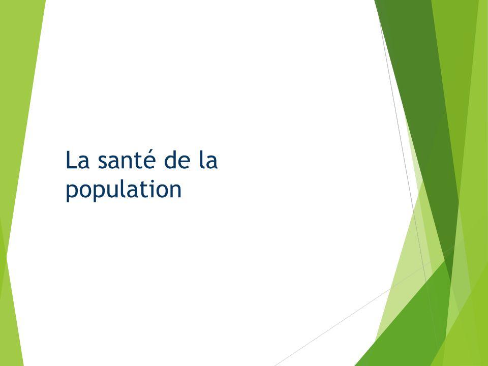 La santé de la population