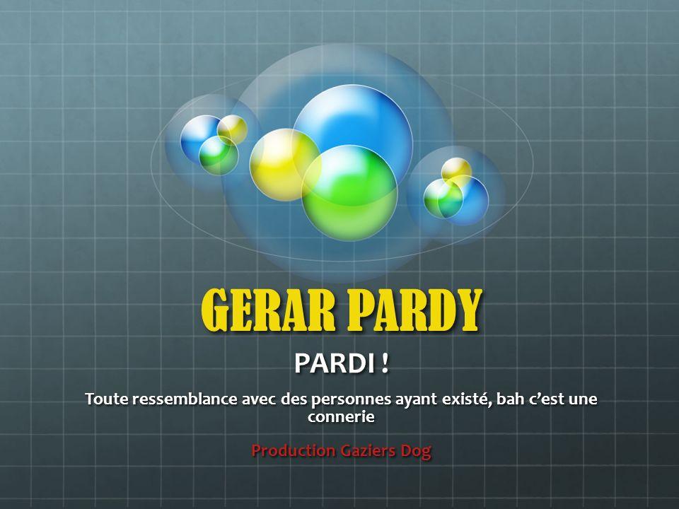 Rappel des règles du Gérar Pardy (pardi!) On vous met la bonne réponse, vous trouvez la bonne question, naturellement!!