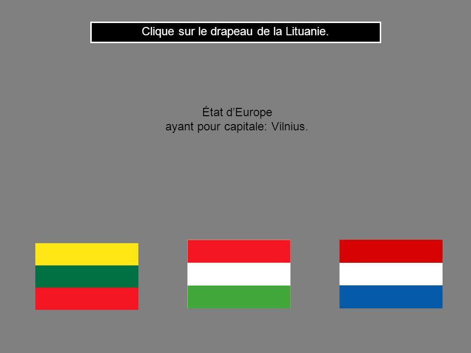 Clique ici pour continuer Cest le drapeau de lAlgérie. État dAfrique du nord ayant pour capitale: Alger.