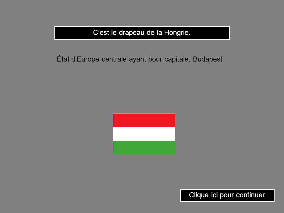 Clique sur le drapeau de la Lituanie. État dEurope ayant pour capitale: Vilnius.