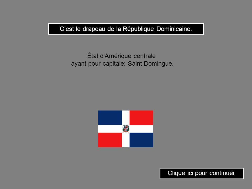 Cest le drapeau de la Géorgie. Clique ici pour continuer État dAsie ayant pour capitale: Tbilissi.
